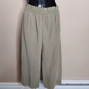 Zara Coulettes high waist loose fitting